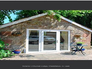 Churnet lodge in the Churnet valley Cheddleton, near leek and Alton towers