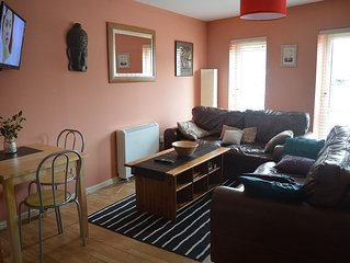 Specious and comfortable city centre apartment, ideal for families and friends