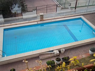 Maison a louer avec piscine privee a 20 km au sud de Barcelone