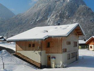 2 bedroom apartment in pretty village - part of the Grand Massif ski area