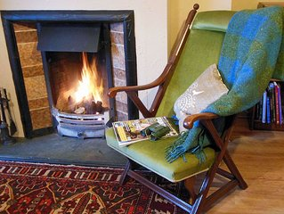 A warm and welcoming cottage in the Scottish Borders