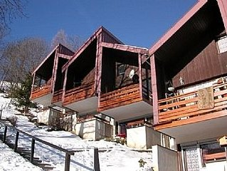 Modern Chalet with Full Mountain Views from South Facing Balcony
