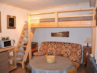 Appartement 2 pièces,  dans chalet,accès indépendant, parking couvert