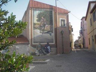 Perfect retreat  in pretty village  near beach 1hr 15min from Alghero