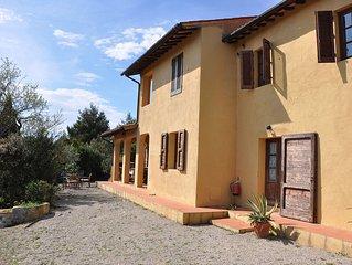 Colline di PORTO AZZURRO charme e relax. Elegante villa  con grande giardino vis