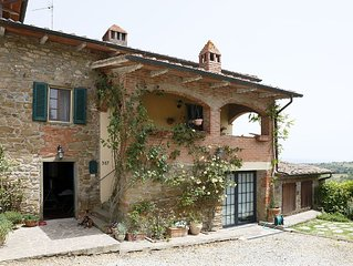 Self-contained gem, lovely views in heart of southern Tuscany