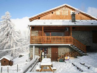 Stunning 350 year old mountain chalet with the best view in the alps
