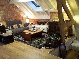 LOFT 100 m² Paris Nord - 6 PERSONNES - 15 mn du centre de Paris
