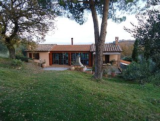 Tuscany, Maremma, Scansano, single house in the country side