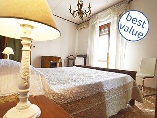 100 mq: appartamento in centro con WiFi e A/C
