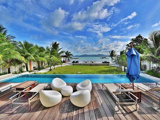 Luxurious Beachfront Penthouse ,Spectacular views / design, 2 bedrooms/ 2baths