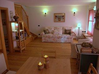 Dolomites- Cozy flat near Cortina d'Ampezzo,Famil