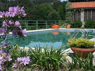 Cosy And Elegant Cottage W/ A Fantastic Pool ( Rural Location- Paredes De Cour