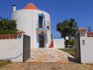 Windmill With Pool In Cercal do Alentejo