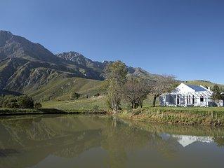 Country farmhouse near Robertson