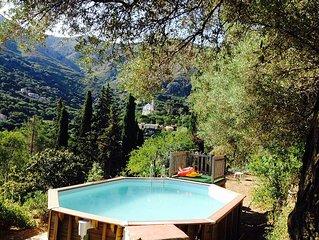 maison de charme à 8 km de plage, grand jardin et piscine