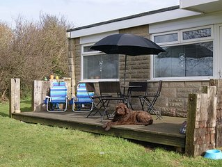 Pet friendly Holiday Chalet on the Isle of Wight. Close to the beaches