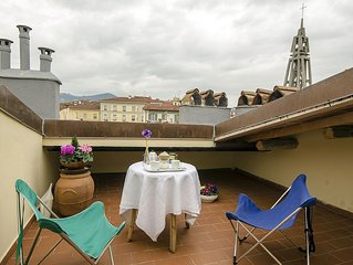 Cozy apartment with roof terrace