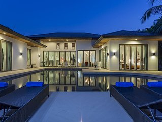 Luxury Family Villa with private pool set in a lush tropical secluded location