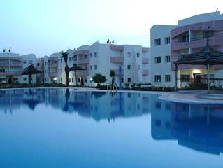 Appartement piscines et plage