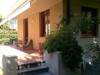 Villa con giardino a 50 metri dal mare