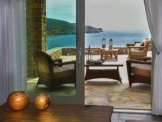 Luxurious Stone Villa with Sea View and Pool in Kea (Tzia)-Regist Nu:***********