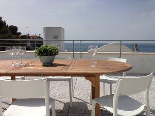 casa vacanze a Castiglioncello con terrazza panoramica vista mare