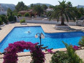 Moraira holiday villa