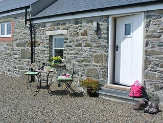 Dairy Cottage, St.Davids.  Comfortable and warm cottage for two. See reviews.