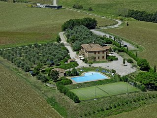 A paradise between Tuscany and Umbria, situated v