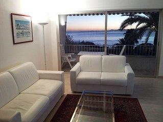 Meuble de tourisme classe 4**** avec parking ferme, vue mer et piscine a Nice