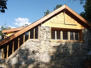 La Salle Les Alpes: Chalet isole en pleine nature-Back to nature in an isolated