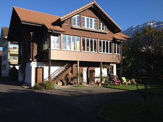 Chalet Waldegg central with garden