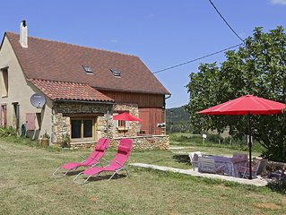 recently renovated holiday home with panoramic view near river and 2 golfcourses