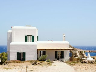 Traditional House on Agios Sostis Beach - Sea view & access to the beach