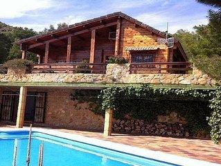 Chalet, jardin arboré & piscine privée, Sagunto_Valencia
