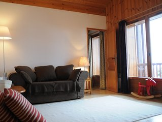 Lovely well equipped Chalet Apartment in St Gervais Les Bains. Sleeps up to 6