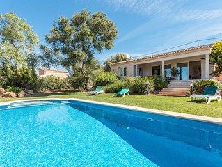 Maravillosa casa con jardin y piscina, cerca de las mejores playas de Mallorca