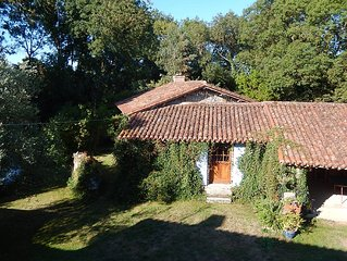 Lovely Riverside Cottage in South Vendee
