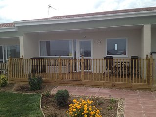 Modern Two Bedroomed Chalet In A Quiet Location Close To A Sandy Beach