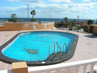 Duplex en primera linea playa. GRATIS: WIFI - TV SAT - GARAJE - PISCINA