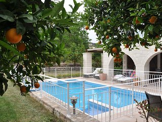 Tranquil and private 3 bedroom villa in unspoilt village in Crete.
