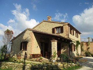 Casale San Martino, newly renovated, country-style brick and stone