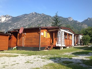Luxe houten chalets Direct aan Lago di Lugano - Porlezza - Milaan - Como - 3***