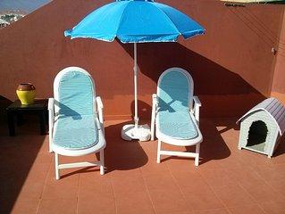 Apartamento 2 habitaciones cerca del aeropuerto Tenerife sur y playa del Medano