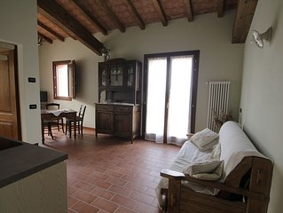Casa per vacanze in riva al fiume Po e immersa nella verde campagna Emiliana