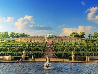 Exclusives Loft at Sanssouci Palace - about 100 m2 - Fireplace - Terrace - Gard