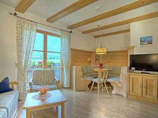 Schone Ferienwohnung  - 50 m2 -  ruhige Lage und doch zentral - WLAN