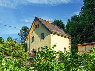 4**** Ferienhaus Wehlen - Urlaub im Herzen der malerischen Sachsischen Schweiz