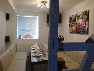 Schones modernes Ferienhaus fur 12 bis 14 Personen